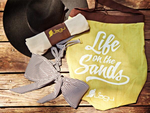 Life on the Sands Beach Bag - Verde