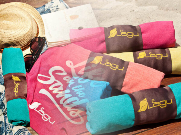 Lagu Beach Blanket and Beach Bag Bundle