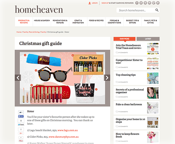 Home Heaven Christmas Guide