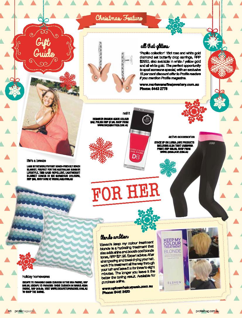 Profile Christmas Gift Guide