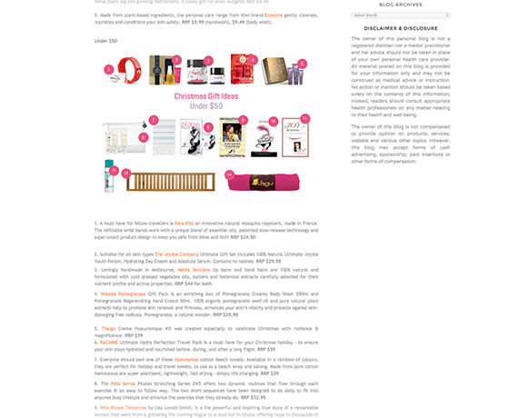 Mademoiselle Slimalicious Christmas Shopping Guide 2014